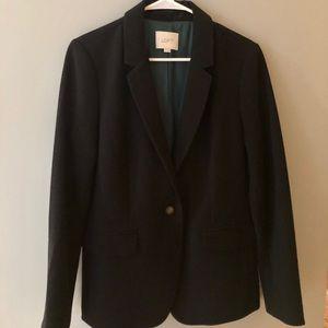 Loft black blazer. Size 6.